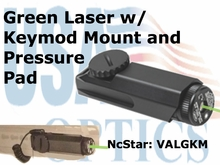 KEYMOD GREEN LASER with PRESSURE PAD