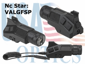 AR15 GREEN LASER w/A2 IRON FRONT SIGHT POST