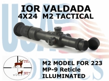 IOR 4x24 M2, with MP-9 Reticle
