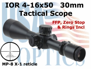 IOR Valdada, 4-16x50, 30mm Tactical Scope