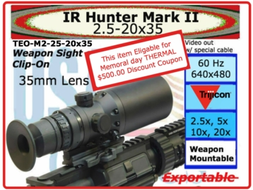 IR Hunter 2/35 - memorial day special