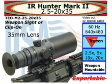 IR Hunter M2: 2.5-20x35, 640x480