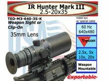IR HUNTER MARK III THERMAL WEAPON SIGHT 35MM-K