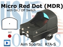Mini Red Dot w/ On & Off Switch