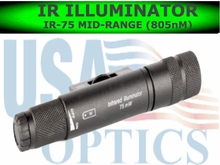 Night Optics IR-75 Mid-Range IR<br> Illuminator (805nM)