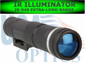 Night Optics IR-K3-940 Extra-Long-Range<BR> Illuminator (940nM)