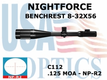 NIGHTFORCE BENCHREST 8-32x56 NP-R2