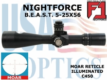 NIGHTFORCE B.E.A.S.T. 5-25X56 MOAR