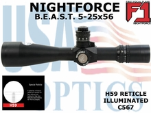 NIGHTFORCE - B.E.A.S.T. 5-25x56 - H59