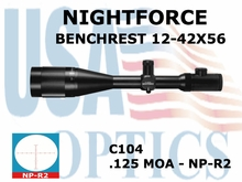 NIGHTFORCE BENCHREST 12-42X56 NP-R2