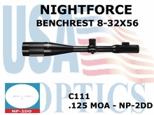 NIGHTFORCE BENCHREST 8-32X56 NP-2DD