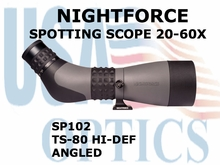 NIGHTFORCE SPOTTING SCOPE TS-80 HI-DEF 20-60X ANGLED