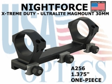 NIGHTFORCE X-TREME DUTY ULTRALITE MAGMOUNT 30MM<BR>1.375""
