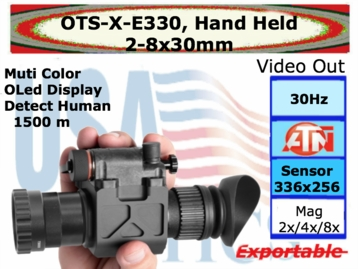 OTS: 2-8x30, Hand Held Thermal