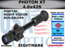 SIGHTMARK PHOTON XT 4.6x42 S DIGITAL NIGHT VISION RIFLESCOPE