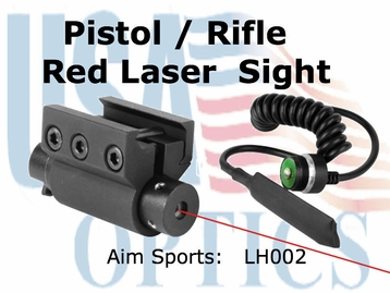 PISTOL/RIFLE LASER SIGHT