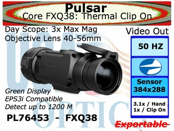 PULSAR CORE FXQ38 FRONT ATTACHMENT THERMAL SIGHT