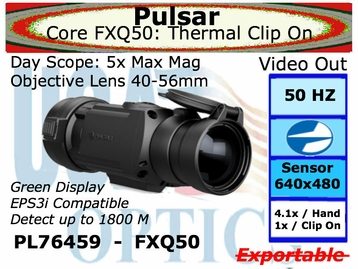 PULSAR CORE FXQ50 FRONT ATTACHMENT THERMAL SIGHT