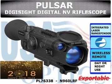 PULSAR DIGISIGHT LRF N960 DIGITAL NIGHT VISION RIFLESCOPE