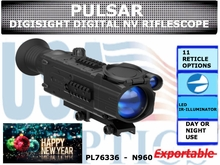 PULSAR DIGISIGHT N960 DIGITAL NIGHT VISION RIFLESCOPE