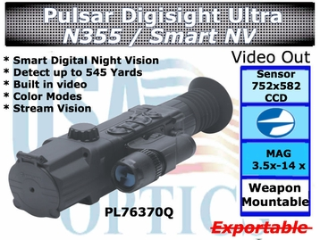 PULSAR DIGISIGHT ULTRA N355 DIGITAL NIGHT VISION RIFLESCOPE