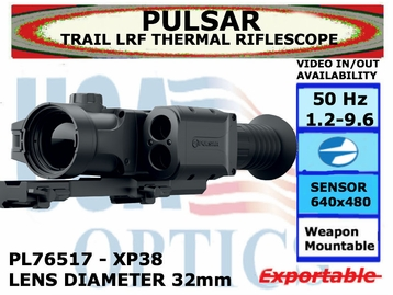PULSAR TRAIL LRF XP38 THERMAL RIFLESCOPE