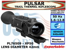 PULSAR TRAIL XP50 THERMAL RIFLESCOPE 1.6-12.8x42