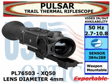 PULSAR TRAIL XQ50 THERMAL RIFLESCOPE 2.7-10.8x42