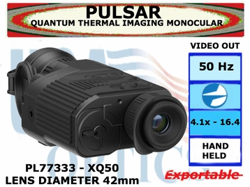 QUANTUM XQ50 THERMAL IMAGING MONOCULAR 4.1-16.4x42