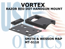 VORTEX RAZOR RED DOT HANDGUN MOUNT  (SMITH & WESSON M&P)