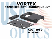 VORTEX RAZOR RED DOT HANDGUN MOUNT (COLT 1911)
