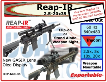 Reap-IR: Memorial Day Coupon 2018
