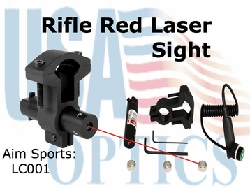 RIFLE LASER SIGHT/RED