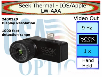 Seek Thermal - IOS / Apple w/ Free phone adaptor