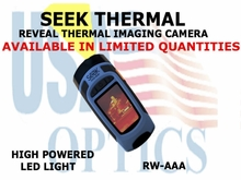 SEEK THERMAL REVEAL IMAGING CAMERA WITH LED LIGHT