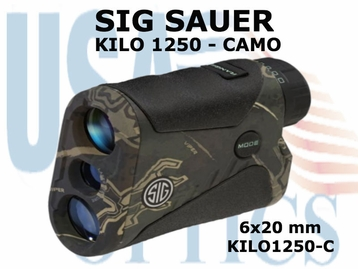 SIG SAUER ELECTRO-OPTICS KILO 1250 LASER RANGE FINDER - CAMO