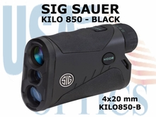 SIG SAUER ELECTRO-OPTICS KILO 850 LASER RANGE FINDER - BLACK