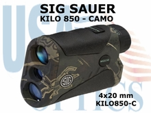 SIG SAUER ELECTRO-OPTICS KILO 850 LASER RANGE FINDER - CAMO
