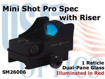 Sightmark Mini Shot Pro Spec w/Riser