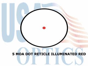 SIGHTMARK TACTICAL RED DOT<BR> SIGHT - RED 5 MOA