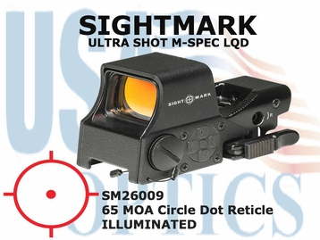 SIGHTMARK ULTRA SHOT M-SPEC LQD - RED 65 MOA