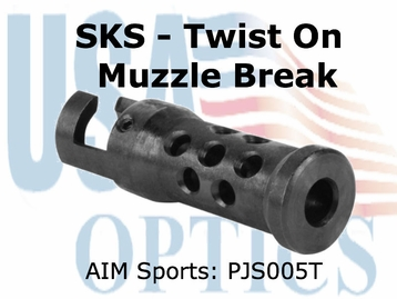 SKS MUZZLE BRAKE (TWIST-ON)