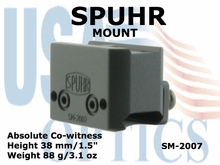 SPUHR MOUNT<BR>FOR AIMPOINT T1,T2 & H1