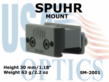 SPUHR MOUNT <BR>FOR AIMPOINT T1, T2 & H1