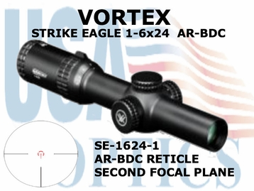STRIKE EAGLE 1-6x24 AR-BDC - ILLUMINATED