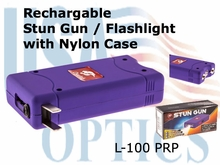 Stun Gun / Flashlight - Purple