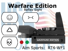 Tactical dual ill w/ 4 Different Reticles / Warfare Edition