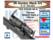 IR HUNTER MARK III THERMAL WEAPON SIGHT 60 MM-K