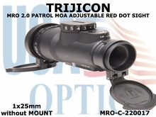 TRIJICON MRO PATROL 2.0 MOA ADJUSTABLE RED DOT SIGHT 1x25 <BR>without Mount