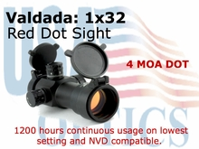 VALDADA 1x32, R.D.S. EDGE RED DOT